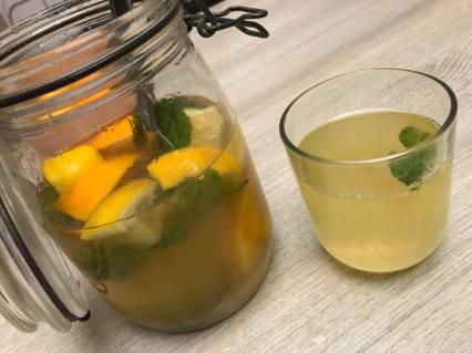 fruitwater - citroen sinaas munt