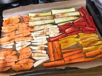 oven groentjes