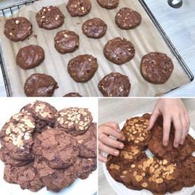 vegan chocolat cookies