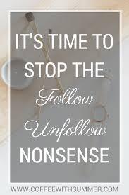 follow unfollow